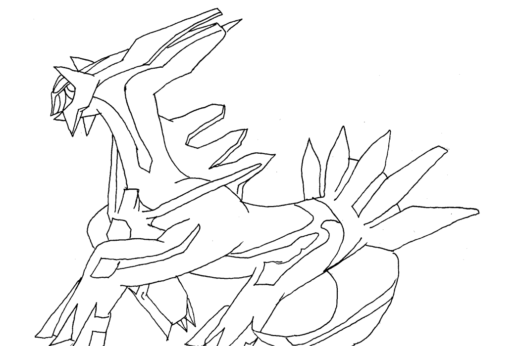 dialga coloring pages - supafan union gallery style 1898