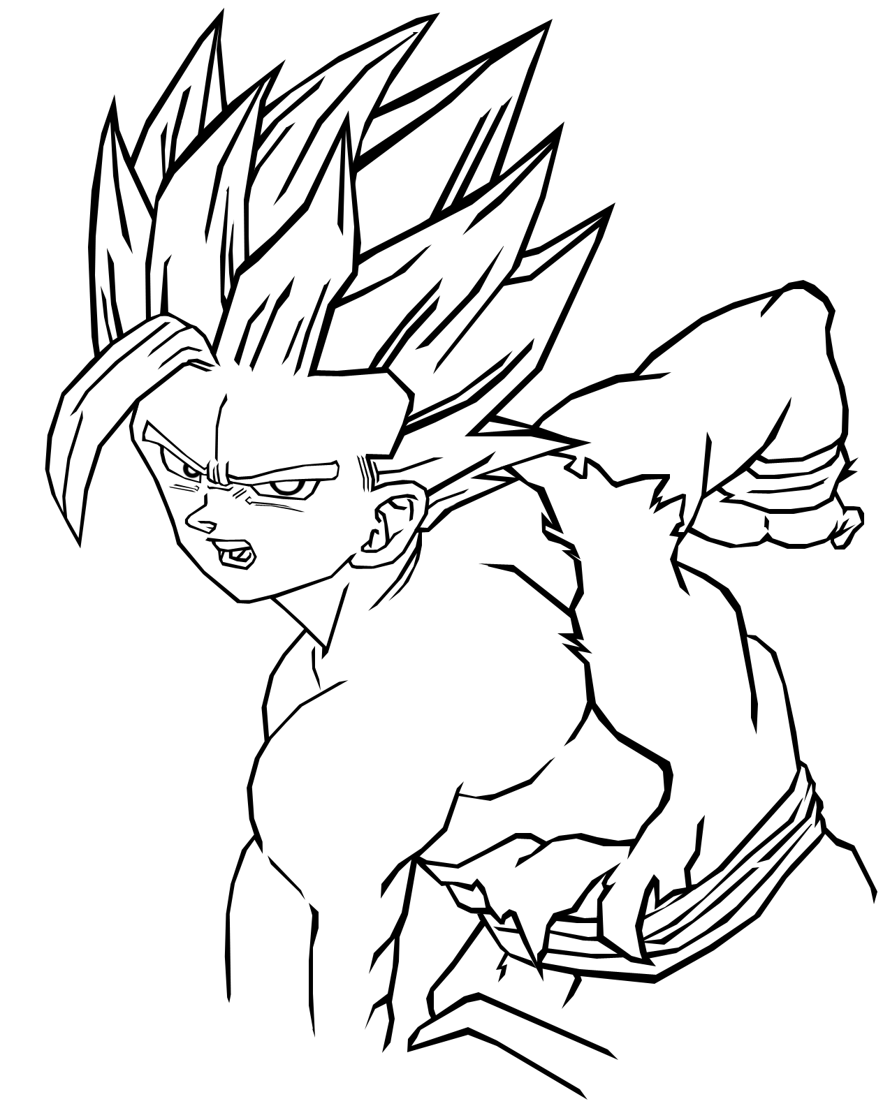 Supafan union gallery style 1898 - Dessin de dragon ball ...